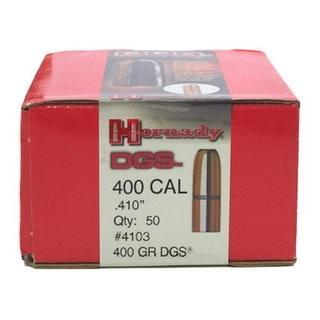 """Hornady 400 Caliber Bullets .410"""" 400gr DGS (Per 50)"""