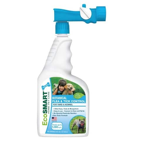 EcoSmart Organic Yard and Kennel 32-ounce Flea and Tick Killer