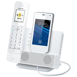 Panasonic Link2Cell KX-PRD260W Digital Phone Smartphone Integration