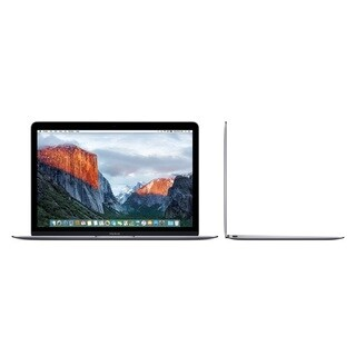 Apple Macbook (MLH72LL/A) 12-inch Retina Display Intel Core m3 256GB - Space Gray (Early 2016)