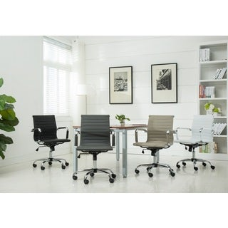 Panoton Chromel Contemporary Low Back Office Chair