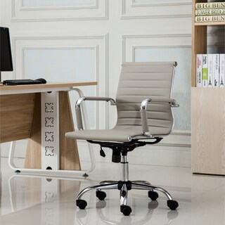 Clay Alder Home Bayonne Contemporary Low Back Office Chair