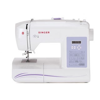 Singer Sewing Machine 6160 60-Stitch Computerized with Auto Needle Threader Factory Refurbished