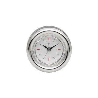 Reed Barton Lyndon Silver Metal Clock