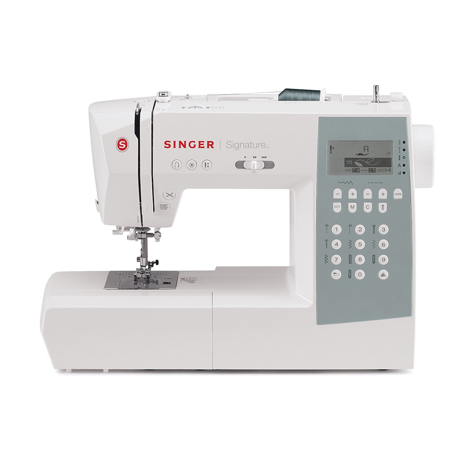 SINGER SEWING CO. Machine Model 9340 Computerized with 34...