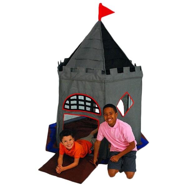 Bazoongi Grey Plastic and Fiberglass Special Edition Knight Castle