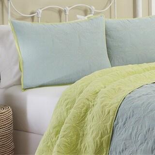 Vue Zuma Beach 100-percent Cotton Reversible 3-piece Quilt Set