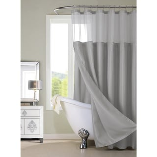 Grey Shower Curtains Overstock Com Vibrant Fabric Bath