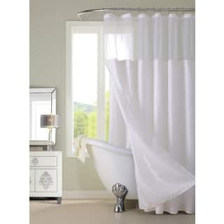 Hotel Shower Curtain with Detachable Liner|https://ak1.ostkcdn.com/images/products/14396162/P20966767.jpg?impolicy=medium