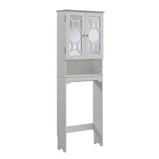 Superbly 23.63 x 68.93-inch Free Standing Over the Toliet by RunFine Group