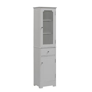 Free Standing Linen Tower 15.75 x 63.88-inch by RunFine Group