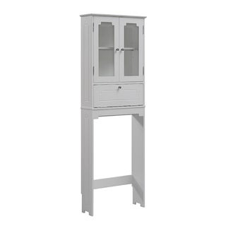 Free Standing Over the Toliet Cabinet 23.62 x 68.93-inch by RunFine Group