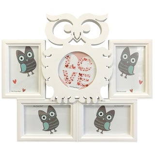 Owl Collage Picture Frame