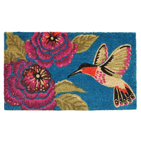 Hummingbird Delight Doormat (2' x 3')
