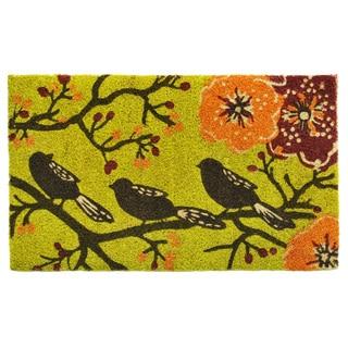 Birds in a Tree Doormat (2' x 3')
