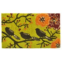 Birds in a Tree Doormat (2' x 3')