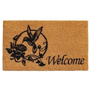 Hummingbird Welcome Doormat