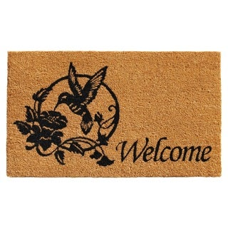 Hummingbird Welcome Doormat|https://ak1.ostkcdn.com/images/products/14396304/P20966889.jpg?_ostk_perf_=percv&impolicy=medium