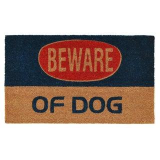 Dog Warning Doormat
