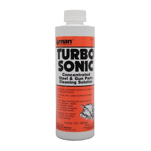 Lyman Turbo Sonic Cleaning Solution Gun Parts, 16 oz.