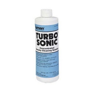 Lyman Turbo Sonic Cleaning Solution Jewelry, 16 oz.