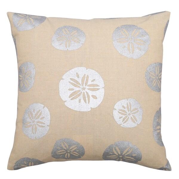 Shop Lush Decor Sand Dollars Offwhite 40inch Decorative Throw Custom Lush Decor Throw Pillows