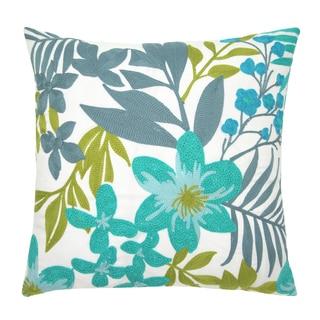 Lush Decor Debora Blue Decorative Throw Pillow