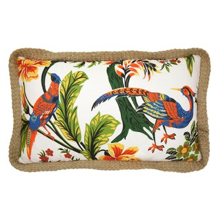 Lush Decor Dolores Peacock 12-inch x 22-inch Decorative Throw Pillow