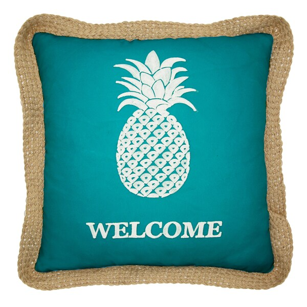 Lush Decor Single Pinele 18 Inch Decorative Throw Pillow