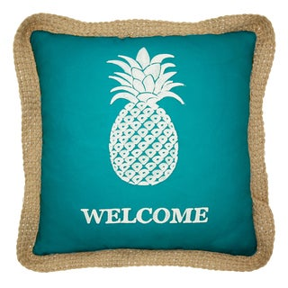 Lush Decor Single Pineapple 18-inch Decorative Throw Pillow