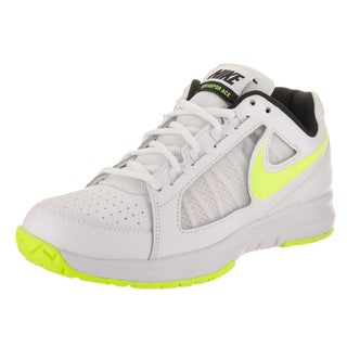 Nike Women's Air Vapor Ace White Synthetic Leather Tennis Shoes