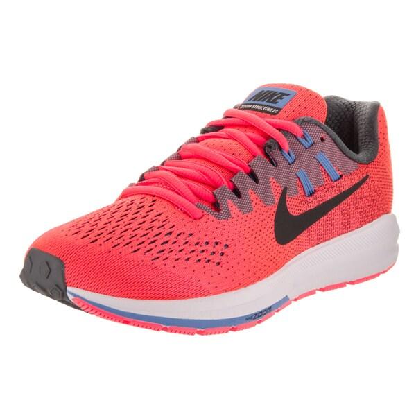b010aa9de37 Nike Women  x27 s Air Zoom Structure 20 Pink Mesh Running Shoes. Click to  Zoom