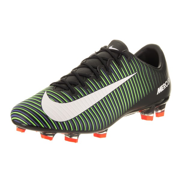 a15ed390a04 Nike Men  x27 s Mercurial Veloce III Fg Black Synthetic Leather Soccer  Cleats
