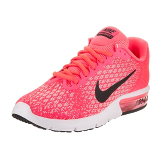 Nike Women's Air Max Sequent 2 Pink Textile Running Shoe