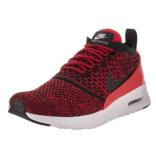 Nike Women's Air Max Thea Ultra FlyKnit Red Size 8 Running Shoe