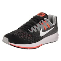 Nike Men's Air Zoom Structure 20 Black Textile Running Shoes