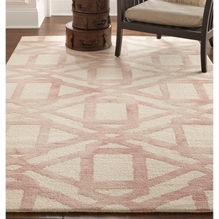 Grand Bazaar Marengo Blush Tufted Rug (8' x 11') - 8' x 11'