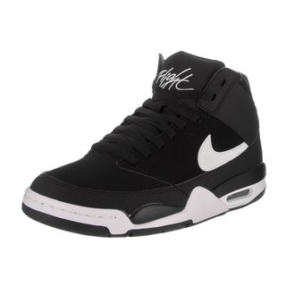 Nike Men's Air Flight Classic Black and White Basketball Shoes