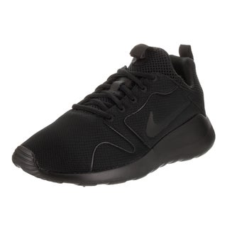 Nike Men's Kaishu 2.0 Black Textile Running Shoes