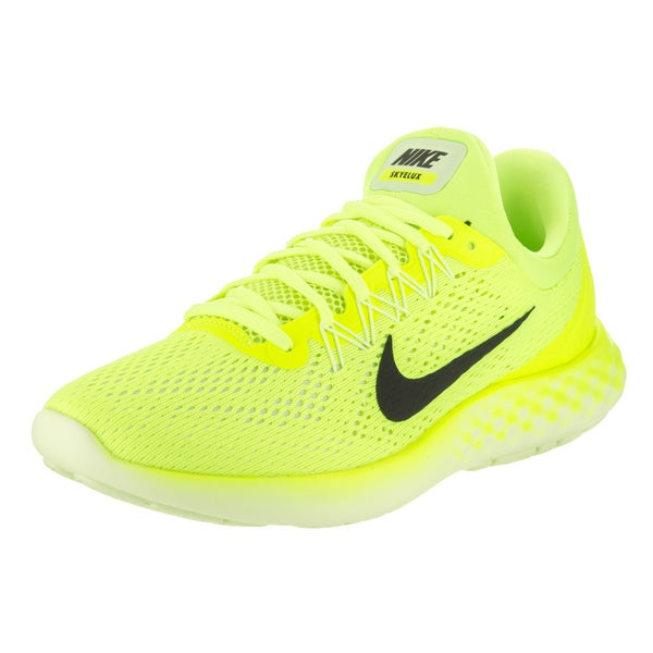 6c89faec33f4 Shop Nike Men s Lunar Skyelux Yellow Running Shoes - Free Shipping ...