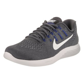 Nike Men's Lunarglide 8 Dark Grey Flyknit Running Shoes