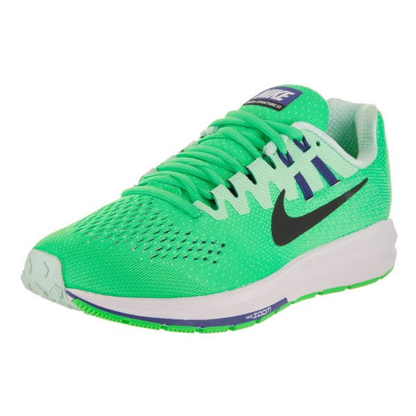 sale retailer 07193 86c07 Nike Women  x27 s Air Zoom Structure 20 Green Running Shoes