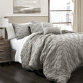 Lush Decor Ravello Pintuck 5 Piece Comforter Set