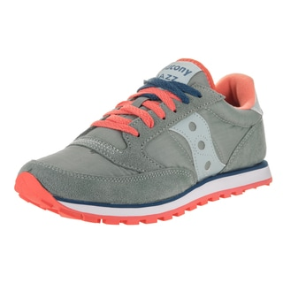Saucony Women's Jazz Lowpro Grey Suede Casual Shoes