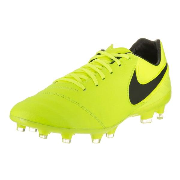 79bcc5963db4 Shop Nike Men s Tiempo Legacy II Fg Yellow Soccer Cleats - Free ...