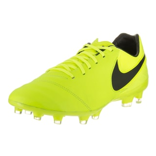 Nike Men's Tiempo Legacy II Fg Yellow Soccer Cleats