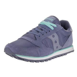 Saucony Women's Jazz Lowpro Purple Suede Casual Shoes