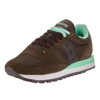 Saucony Women's Jazz Original Brown Suede Casual Shoe