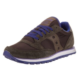 Saucony Women's Jazz Lowpro Brown Suede Casual Shoes