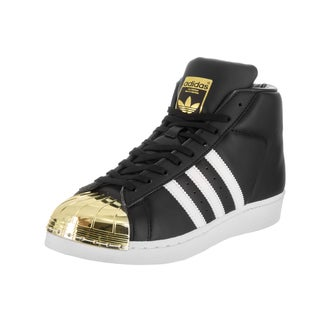 Adidas Women's Promodel Metal Toe Originals Black Synthetic-leather Casual Shoes